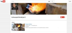 Kultasepän Päiväkirjat YouTube kanava